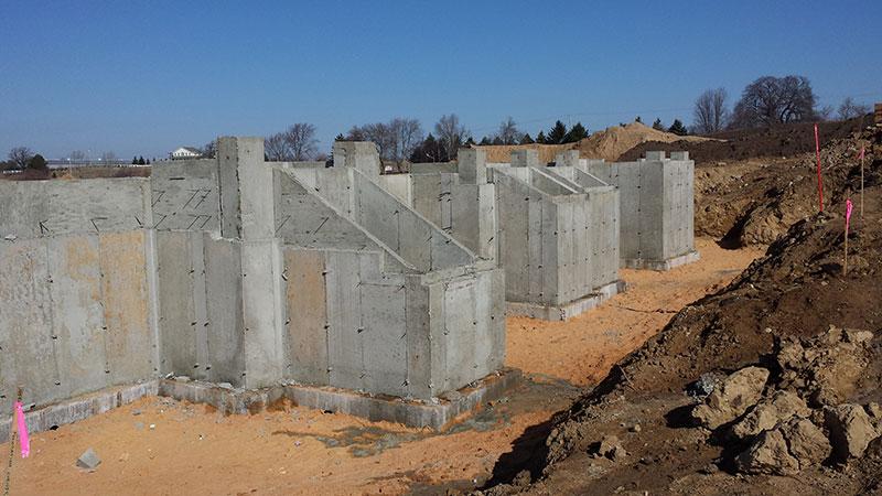 Foundation wall 1